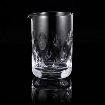 Paradise Palm Mixing Glass
